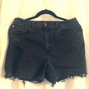Denizen from Levi's Black Super High-Rise Shorts